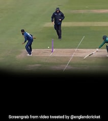 Stop What You're Doing To Watch Adil Rashid Pull Off A No-Look Run-Out