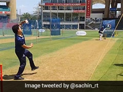 Sachin Tendulkar Bowls In Nets, ICC Points Out Front Foot No-Ball
