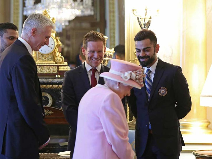 World Cup 2019: Captains Of The Teams Including Virat Kohli Meet Queen Elizabeth