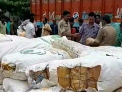 2,500 Kg Cannabis Seized In Visakhapatnam, Two Arrested