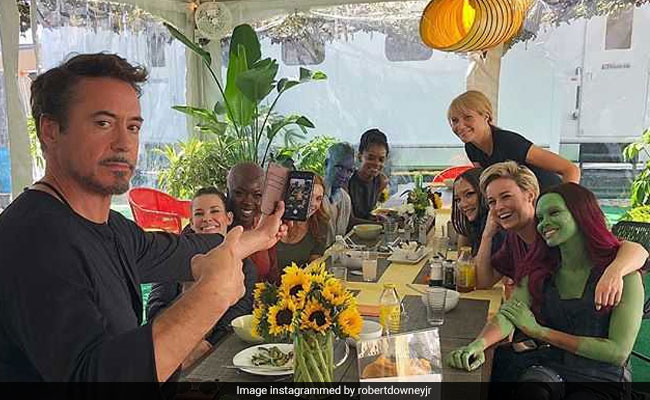 Avengers: Endgame - When Robert Downey Jr Had His Female Co-Stars Over For A 'Marvel'ous Lunch