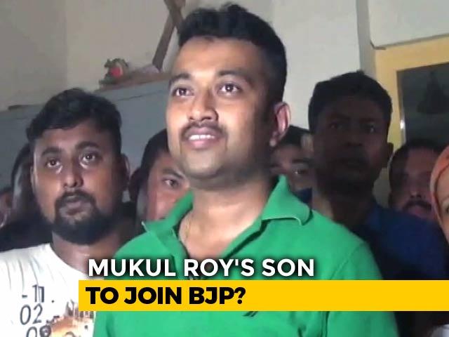Video : Son Of BJP's Bengal Hero Mukul Roy Sacked By Trinamool, May Jump Ship