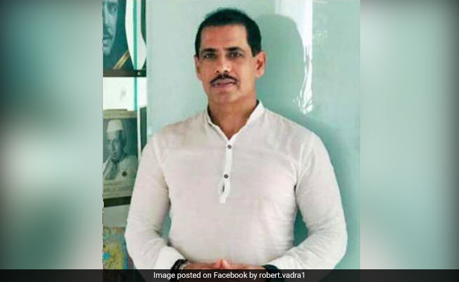 Income Tax Officials At Robert Vadra Office To Record Statement In Property Case