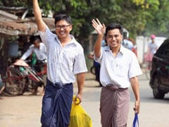2 Pulitzer-Winning Reuters Reporters Freed After 500 Days In Myanmar Jail