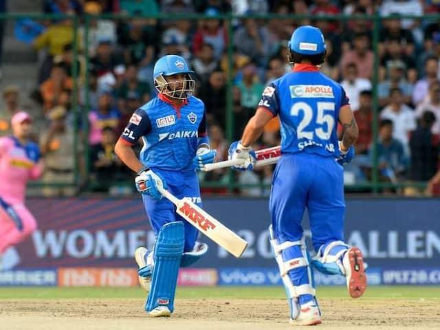 IPL 2019,  DC Vs RR: Delhi Capitals Beat Rajasthan Royals By 5 Wickets