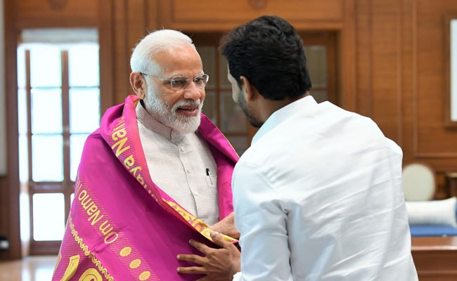 पीएम मोदी से मिले आंध्र प्रदेश के नामित मुख्यमंत्री जगन मोहन रेड्डी, विशेष राज्य का दर्जा समेत कई मुद्दों पर हुई बात