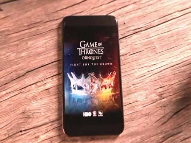 Video : Play the Game of Thrones on Your Phone