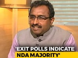 "Video : ""BJP Will Repeat 2014 Uttar Pradesh Victory In Bengal"", Says Ram Madhav"