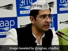 "AAP Candidate Raghav Chadha Alleges ""Bogus Voting"" In Delhi"