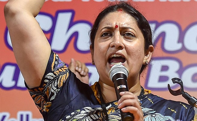 Maharashtra Elections 2019: Rahul Gandhi Didn't Mention Candidates Name In Maharashtra Rally: Smriti Irani