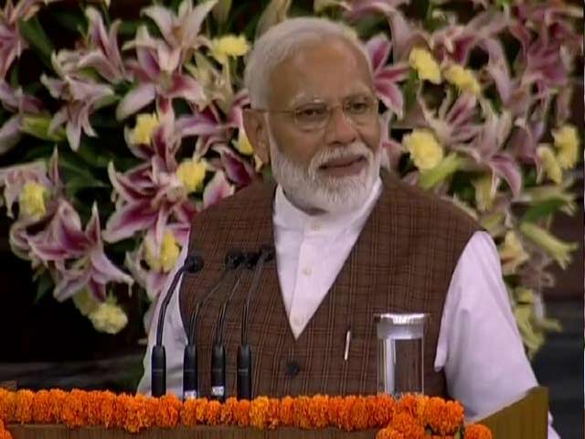 """Video : """"2019 Elections Have Helped Break Walls, Connect Hearts,"""" Says PM Modi"""