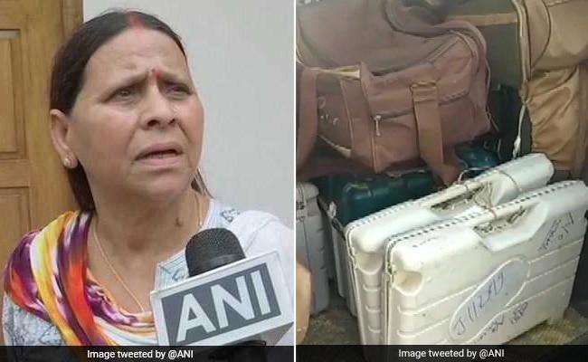 राबड़ी देवी ने उठाया चुनाव आयोग पर सवाल- ट्रकों में पकड़ी जा रही EVM, ये कहां से आ रही है, कहां जा रही है?