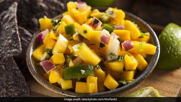 How To Make Raw Mango Onion Chutney At Home
