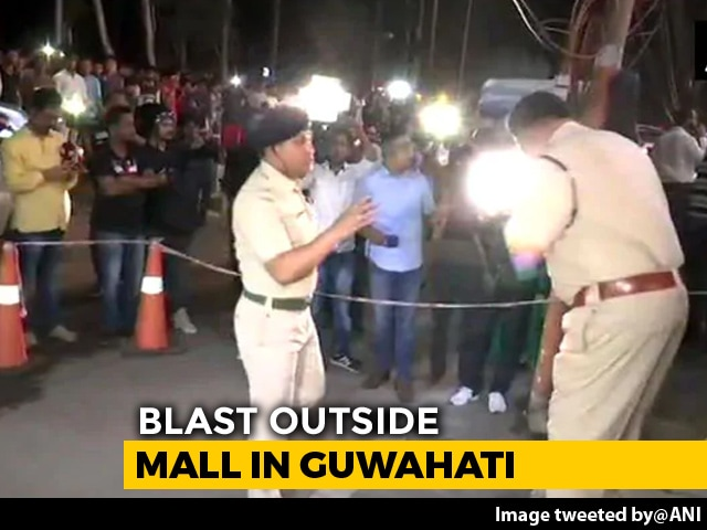 Video : 12 Injured In Blast Outside A Mall In Guwahati; 2 Critical