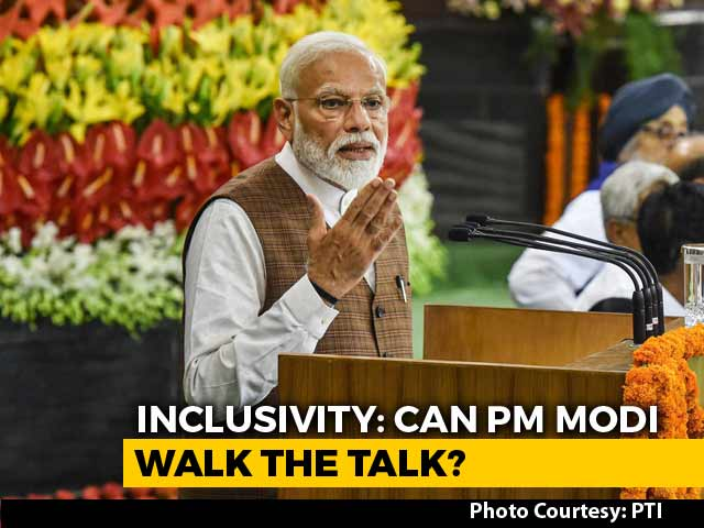 Inclusivity: Can PM Modi Walk The Talk?