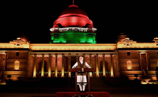 With 8,000 Guests, PM Modi's Swearing-In Biggest-Ever Event At Rashtrapati Bhavan
