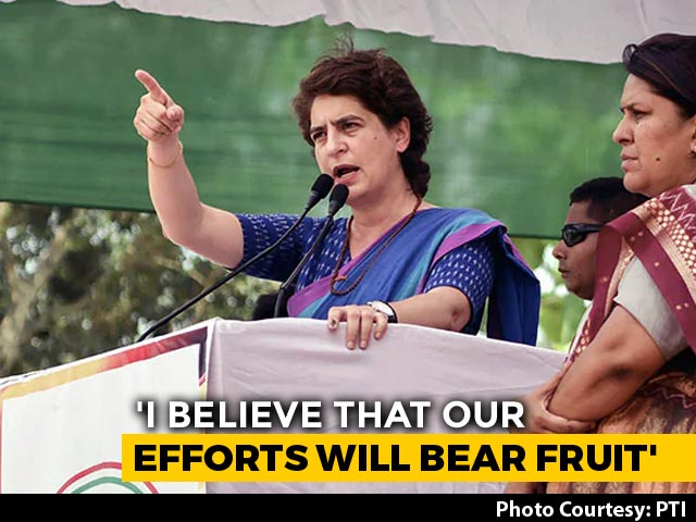 'Exit Polls Just To Discourage You': Priyanka Gandhi To Congress Workers