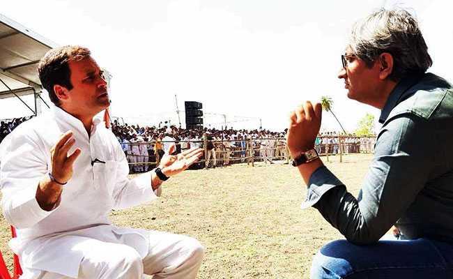 रवीश कुमार से राहुल गांधी बोले-आरएसएस के लोगों के खिलाफ हिंसा होगी तो उनकी भी करूंगा मदद