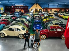 World's Largest Private Collection Of Volkswagen Cars Is Up For Sale
