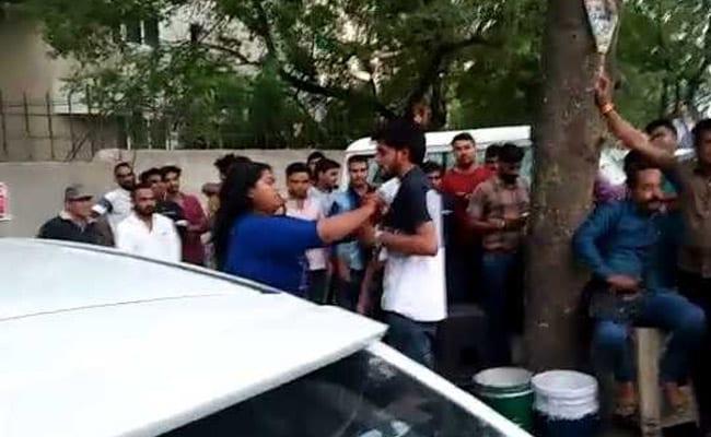 Woman Teaches 'Stalker' A Lesson, Thrashes Him In Bhopal