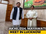"Video : Prepping For ""Next Step"", Says Akhilesh Yadav After Meeting Mayawati"
