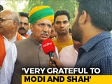 Video: Arjun Meghwal, Who Started Out As A Telephone Operator, Back In PM's Team