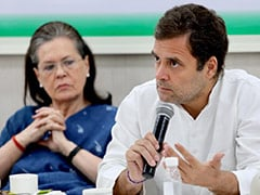 Rahul Gandhi Addresses Party's Top Leaders On Election Disaster