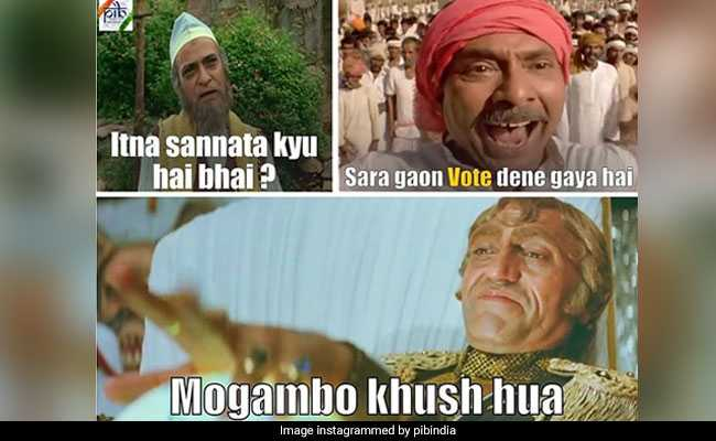 Dilwale Dulhania To Avengers Memes, Government's Press Body Teases Voters