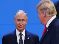In Call With Putin, Trump Says Did Not Raise US Election Meddling