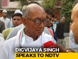 Video : Digvijaya Singh, Contesting Election In Bhopal, Misses Voting In Rajgarh