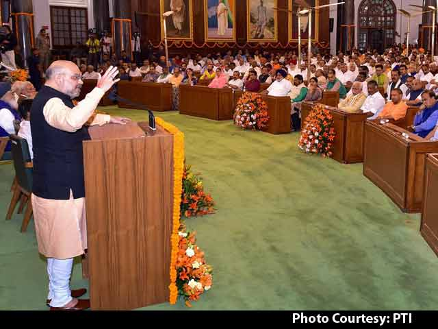 Video : PM Modi Has Not Taken A Day Off In 20 Years: Amit Shah
