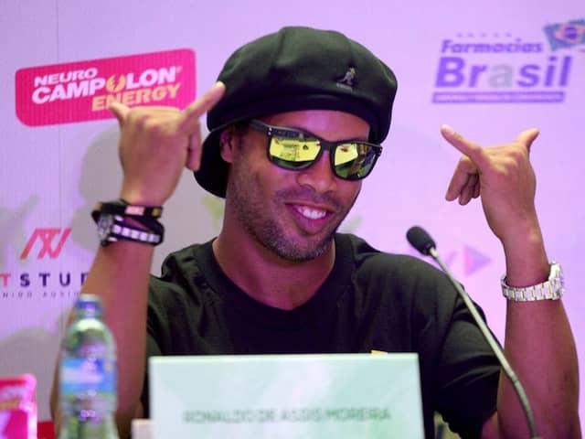 Barcelona And Brazil Legend Ronaldinho Raps Against Corruption