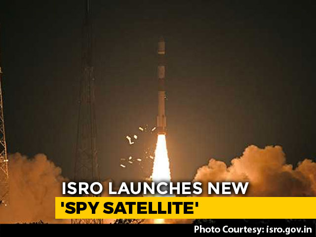 "Video : Months After Balakot Strike, India Launches ""Cloud-Proof"" Spy Satellite"