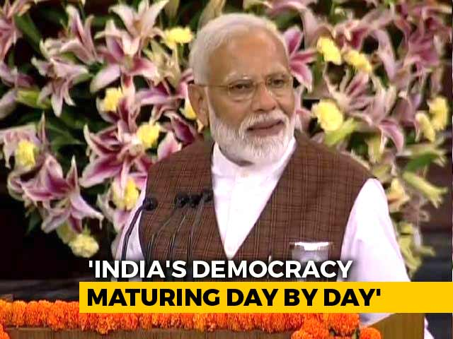 """Video : """"Lure Of Power Doesn't Influence India's Voter,"""" Says PM Modi"""