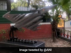 Rafale Replica Put Up Outside IAF Chief's Home, Next To Congress Office
