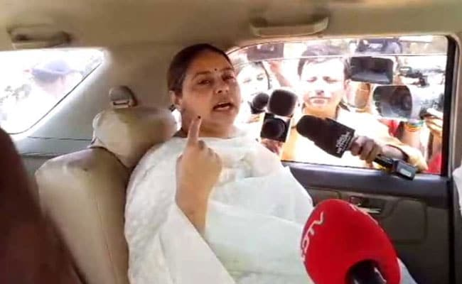 Lok Sabha Polls: 'Modi Will Go, Good Days Of People Will Come', Says Misa Bharti