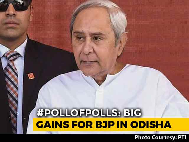 Video : Naveen Patnaik's BJD, BJP Neck-And-Neck In Odisha, Predict Poll Of Polls