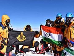 एनएसजी कमांडो के दल ने माउंट एवरेस्ट पर फहराया तिरंगा, देखें- तस्वीरें