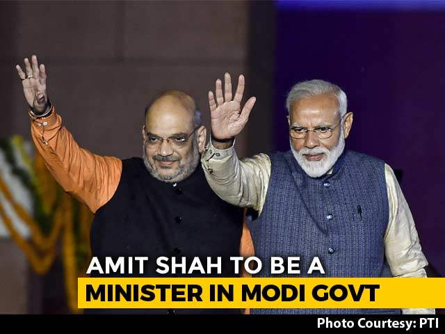 Video : Amit Shah To Join PM Modi's Cabinet: Sources