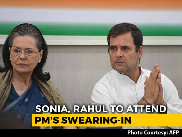 Video: Rahul Gandhi, Mother Sonia To Attend PM Narendra Modi's Oath Ceremony Tomorrow