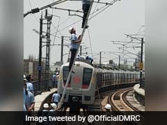 Delhi Metro Station Closed Briefly After Car Catches Fire Near Entrance