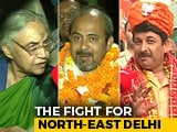 Video : Political Heavyweights Clash In Three-Cornered Battle In North East Delhi