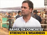 Video: Rahul Gandhi To NDTV On One Big Congress Strength And Weakness