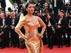 Cannes 2019: Aishwarya Rai Bachchan's Gold Dress Reviewed By Abhishek And The Internet