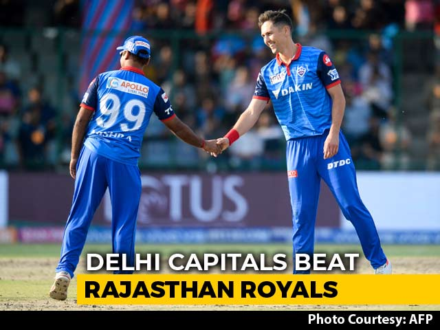 Delhi Capitals End Rajasthan Royals