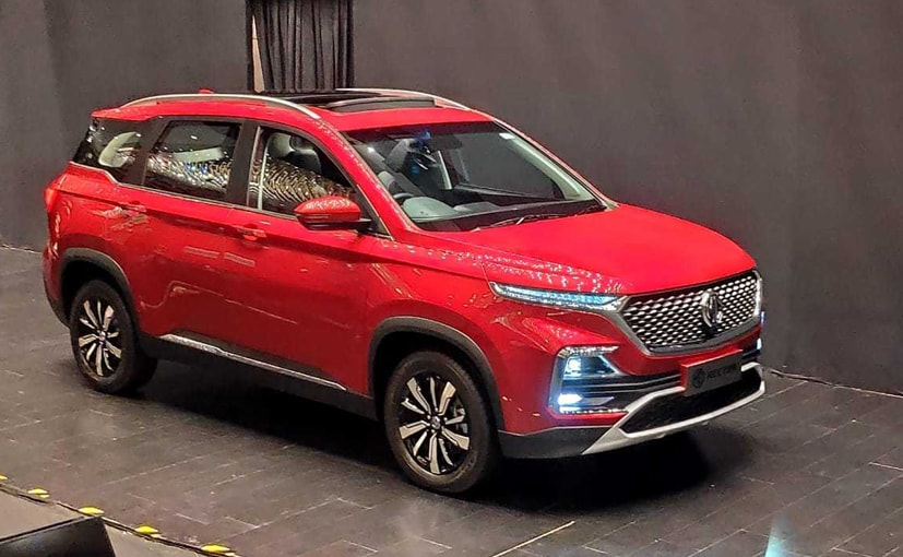 The MG Hector is all set to hit all of the company dealerships in the next couple of weeks.