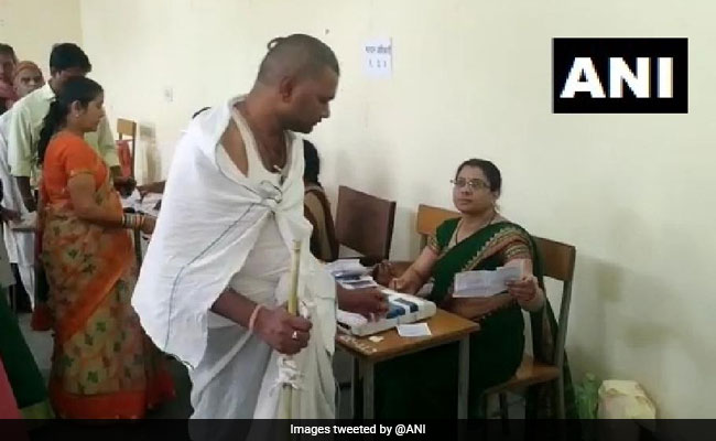 Elections 2019: Madhya Pradesh Man Heads To Vote Right After Father's Funeral