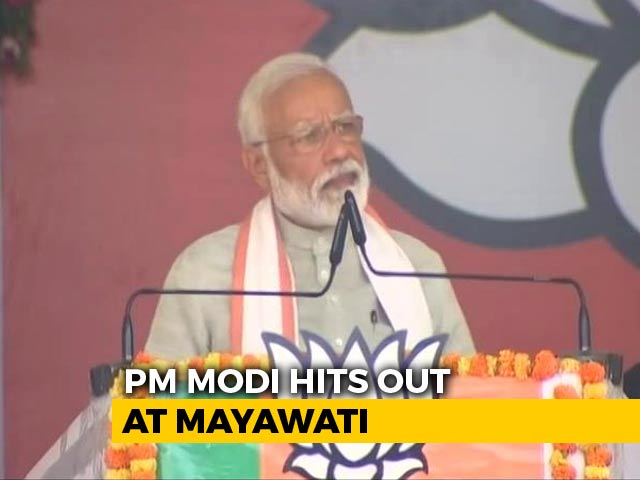 "Video : ""Crocodile Tears"": PM Asks Why Mayawati Backing Congress After Alwar Rape"