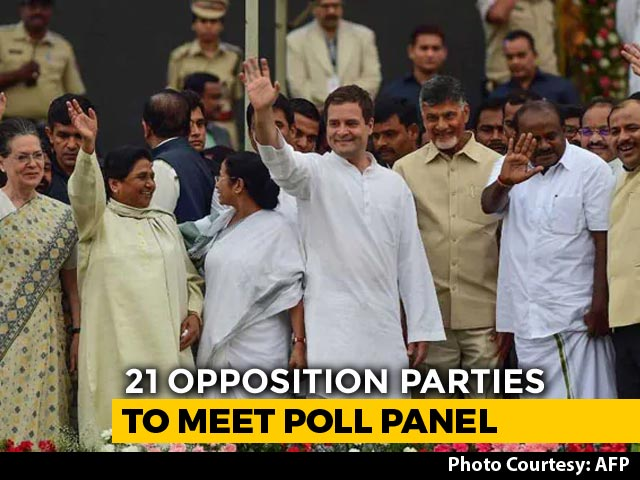 Video : After Exit Polls, Opposition Talks Of Voting Machines, To Meet Poll Body