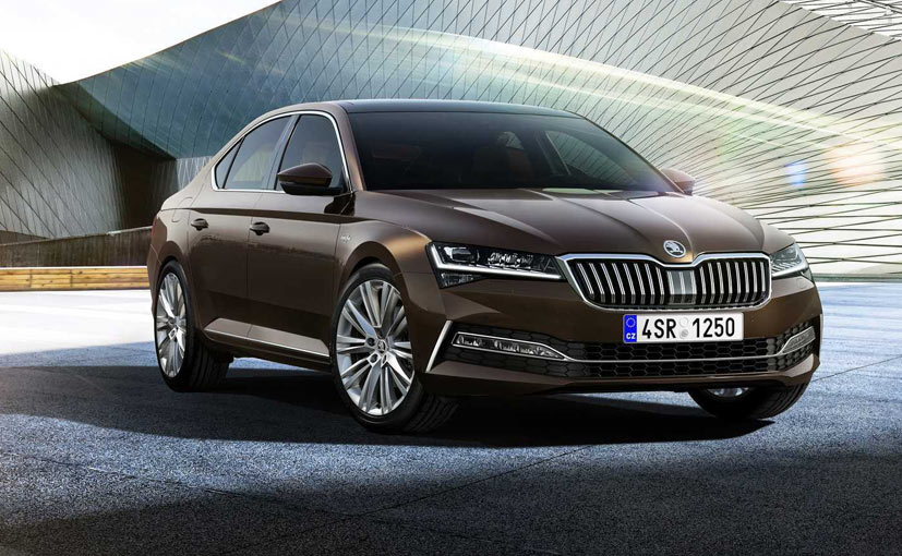 The 2020 Skoda Superb comes with a host of new features